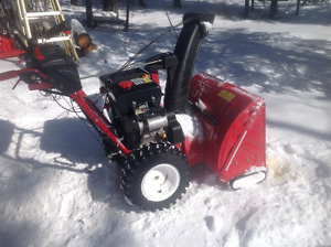 "28"" electric start snowblower"