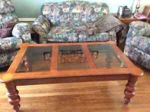 Tables de salon en bois massif 175.00 négociable