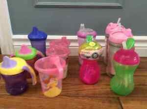 Bottles and sippy cups London Ontario image 1