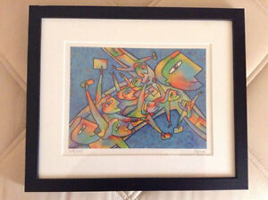 PHILIPPE BEHA SIGNED Limited Edition Print ILLUSTRATOR Québécois