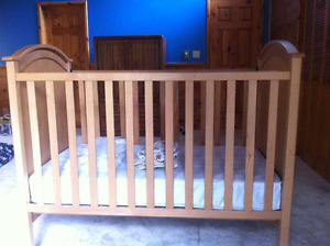 Solid wood, Canadian made Crib