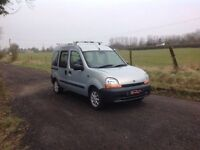 24/7 Trade sales NI Trade Prices for the public 2000 Renault Kangoo 1.6 Wheel Chair Converted