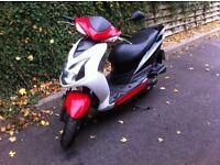 Sym jet 4 50cc scooter 2011