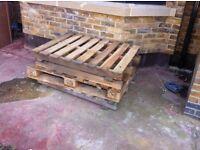 Wood pallets x4 Free