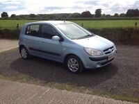 2006 Hyundai Getz 1.1 gs newer model full mot