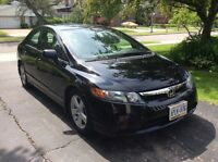 2007 Honda Civic EX Model- Sporty, Sassy and Fun to Drive!