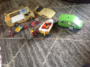 Play mobile camper and car/trailer/boat