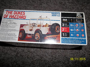 ERTL 1/25 Scale Model Kit, Daisy's Jeep, The Dukes of Hazzard Windsor Region Ontario image 2