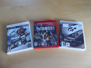 PS3 Games (Like New! )