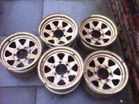 4x4 steel wheels
