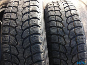 4 X WINTER TIRES HIVER 185 70 14 UNIROYAL EXTREME ALMOST NEW