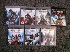 Assassins creed collection ps3