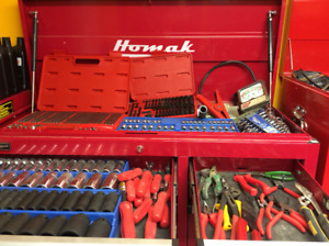 Tool box and complete set of tools