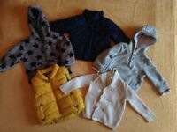 Baby coats/ jackets size 9-12 months. Bundle 9