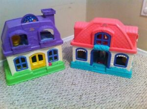 Fisher Price Little People Houses and People