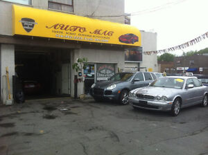 GARAGE A LOUER A MONTREAL AVEC TOUT INCLU  GARAGE FOR RENT IN MO