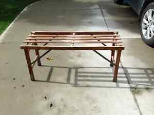 Antique Folding Wash Stand