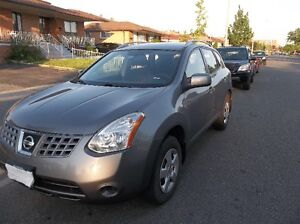 2008 Nissan Rogue S SUV, Crossover E tested.