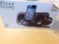 Sound audio system iPhone iPod mp3 £4