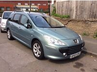PEUGEOT 307 SW LONG. MOT MAY 2017 PX welcome