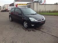 24/7 Trade sales NI Trade Prices for the public 2005 Ford Fiesta 1.4 Flame 3 door black Low miles