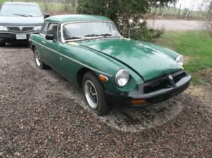 1977 MGB for trade/sale..will trade for antique firearms