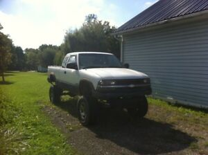 Lifted 1991 Chevy S10