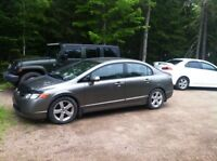 2006 Honda Civic LX - Low Km - Damaged