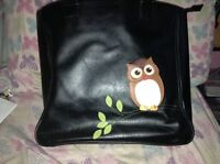 Owl bag & Owl wallet