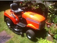 "Ride on lawn mower / tractor husqvarna cth200 42"" deck"