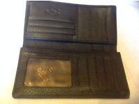 Goldlion wallet men's business causal leather brown colour £10