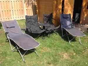 Camping/Deck outdoor chairs and loveseat