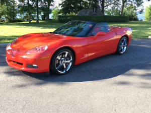 Corvette décapotable 3LT 2010 - Rouge flamme