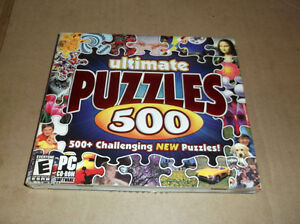 Ultimate Puzzles 500 - 2004 - PC - Used Once - $5.00