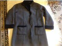 Marks spencer ladies coat size 10 used full zipper £2