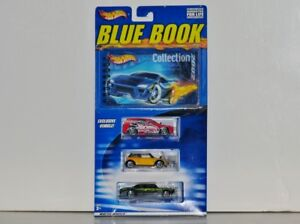 Hot Wheels BLUE BOOK Collection 2002, Set 1 of 2, 1:64 Diecasts