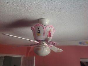 Ventilateur de plafond Disney Princesses Ceiling Fan Gatineau Ottawa / Gatineau Area image 3