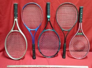 TENNIS RACQUETS OLD $ 20 EACH