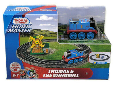Thomas & Friends Track Master Thomas And Windmill Playset Push Along Age 3+ NEW