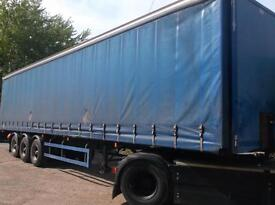 UTILITY TRI AXLE CURTAINSIDE TRAILER 13.6 METERS