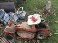 Vintage Riding lawnmower