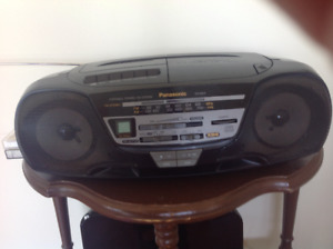 Radio CD et cassette