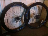 "Bike wheel set 29"" for sale or swap for 26"""