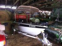 2008 legend xgs fishing boat