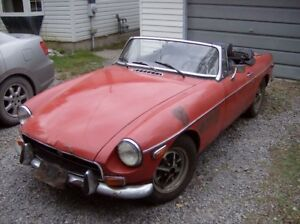 1972 MGB MkIII Barn Find 20 Years In Storage