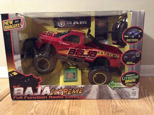 NEW BRIGHT R/C. Dodge Ram BAJA EXTREME. Full function.