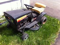70's Sears lawn tractor