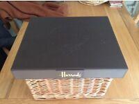 Harrods Hamper Basket