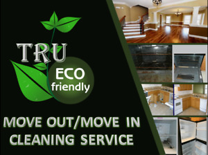 Move in/move out cleaning service