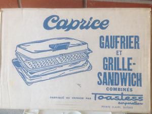Grille sandwich et gauffrier